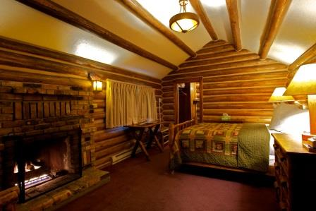 One Room Cabins Impressive One Room Rustic Log Cabins  Signal Mountain Lodge Review