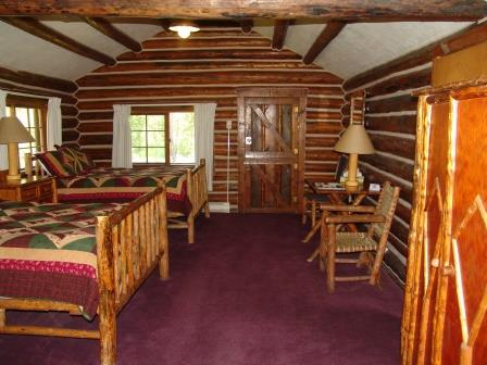 One Room Cabins Entrancing One Room Rustic Log Cabins  Signal Mountain Lodge Decorating Design